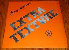 GEORGE HARRISON EXTRA TEXTURE ORIGINAL APPLE LABEL LP STILL SEALED  1975