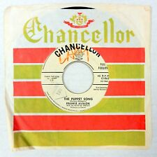 FRANKIE AVALON 45 The Puppet Song CHANCELLOR Promo WL Original Press #C925