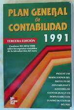 PLAN GENERAL DE CONTABILIDAD 1991 - MCGRAW-HILL 2001 - VER INDICE
