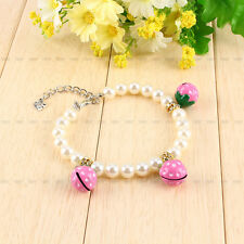 NEW Dog Cat Pet Beads Necklace Collar Necklet Charm Pendant Jewelry