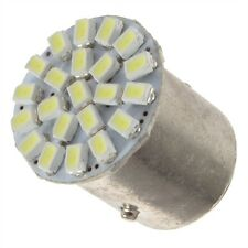 S25 1157 1206-22 SMD Warm White LED Car Stop Tail Turn Brake Light Lamp Bulb BY