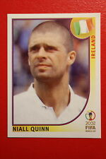 PANINI KOREA JAPAN 2002 # 364 IRELAND QUINN WITH BLACK BACK MINT!!!
