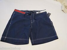 Mens swim trunks board shorts Tommy Hilfiger peacoat red white blue 7869678 XXL
