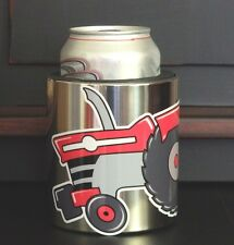 Massey Ferguson Tractor Swag MAGNETIC Stainless Steel CUP HOLDER, Vinyl MF decal