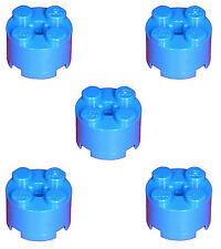 Missing Lego Brick 3941 Blue x 5 Brick 2 x 2 Round