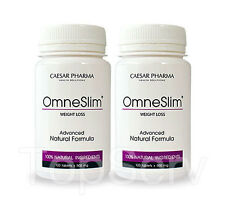 2 OmneSlim Slimming Pills Very Strong Appetite Suppressant Weight Loss BEST Pill
