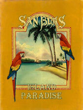 SanBias Island Paradise Travel Ocean Oasis Tropical Metal Sign