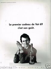 Publicité advertising 1984 Scotch Whisky VAT 69
