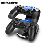 Dual USB Charging Charger Docking Station Stand for Playstation 4 PS4 Controller