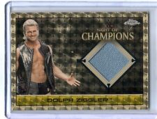 1/1 WWE Dolph Ziggler 2015 Topps Chrome SUPERFRACTOR Mat Relic Card SN 1 of 1
