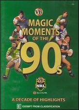 NRL - Rugby League - MAGIC MOMENTS of the 90s - Decade Highlights DVD NEW SEALED
