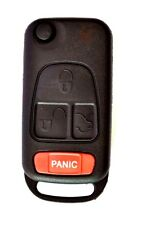 New Flip Key FOB Shell Remote Case Fits Mercedes-Benz SLK-Class 98-03 US Seller