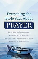 Everything the Bible Says About Prayer: How do I know God hears my prayers?  Wha