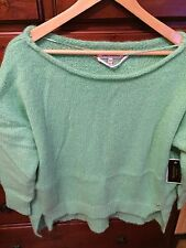 JUICY COUTURE STRIPED MOHAIR PULLOVER NWT IN MINT