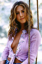 583 SEXY ART DECAL STICKER PIN UP GIRL HOT JENNIFER ANISTON FIRM BREAST BOOBS
