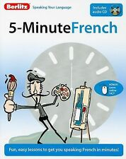 Berlitz 5-Minute French Paperback 2009 incl. Audio CD