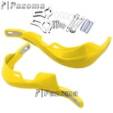 "Alloy Handguard Raptor Hand Guards Suzuki RMZ250 RMZ450 DRZ400 RM250 7/8"" Yellow"