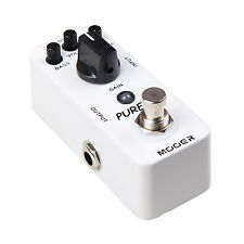 New Mooer Pure Boost Clean Boost Micro Guitar Effects Pedal!!