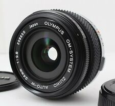 N MINT Olympus OM-System ZUIKO AUTO-W 24mm F2.8 Wide Angle Prime Lens From Japan