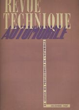 (C2)REVUE TECHNIQUE AUTOMOBILE DODGE 4X4 (1947)