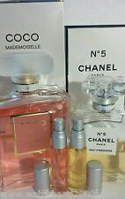 2 of 10ml combo CHANEL - COCO MADEMOISELLE and NO 5 Premiere, travel, tote, yoga