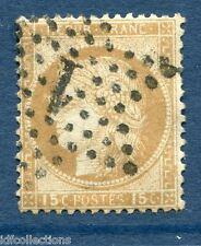 France Cérès N°55 oblitération cachet étoile de paris N°1