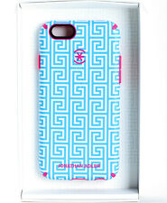 Speck Johnathan Adler CandyShell Inked Case for iPhone 6 6s -Aqua Greek Key/Pink