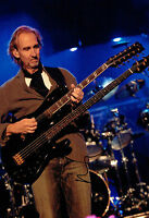 Mike RUTHERFORD SIGNED Autograph 12x8 Photo AFTAL COA GENESIS Guitar