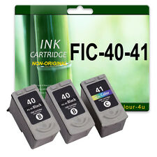 3 Ink Cartridge for Pixma iP2600 MP140 MP150 iP2200 iP2500 PG40 CL41