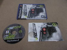 PS2 Playstation 2 pal jeu need for speed pro street avec boite instructions