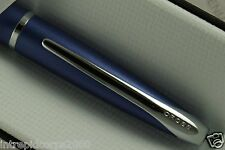 Cross ATX Azurite Matte Blue and polished Appointment Rollerball  pen