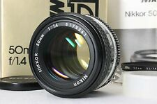 Nikon Ai-S Nikkor 50mm f1.4 Manual Prime Lens with Box Near Mint from Japan