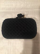 fashion Clutch Bottega Veneta Women Black velvet