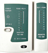 TechByte Cable Tester LAN Network RJ-45 Cat-5 RJ-11/12