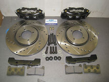 Mk1 Mk2 Escort Wilwood Midilite 4 Pot Brake Set Up 260mm Vented Brake Kit