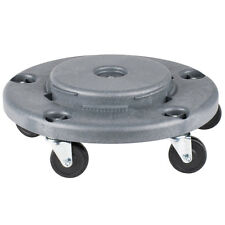 Lavex Janitorial Gray Trash Can Dolly 274TCDOLLY