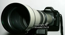 Telezoom 650-1300mm F. Sony Alpha 230 330 380 450 500 550 580 580 y 77 77-ii 58