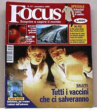 FOCUS [N. 37 - novembre 1995] (possibilità di spedizione a 2,00 euro)
