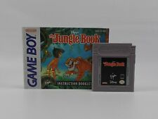 Disney's The JUNGLE BOOK with Manual (Nintendo Game Boy, 1994)