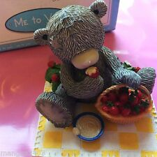 EX DISPLAY ME TO YOU FIGURINE VERY RARE STRAWBERRYS & CREAM BOXED FRUITS OF LOVE