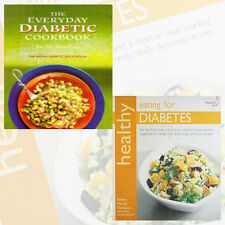 Healthy Eating for Diabetes & The Everyday Diabetic Cookbook 2 Book Set New