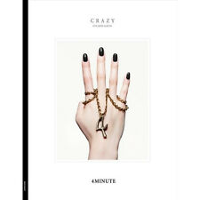 4MINUTE - 6TH MINI ALBUM [ CRAZY ] CD+1 BOOKMARK STYLE PHOTO CARD