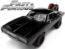 Fast & Furious - Dom's 1970 Dodge Charger R/T 4x4 1:24 Scale Diecast Model