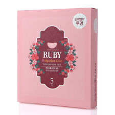NEW KOELF Ruby & Bulgarian Rose Hydro Gel Mask Pack (5 Sheets)