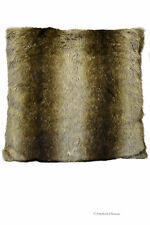 "15.8"" Square Faux Fur Decorative Throw Occasional Pillow Cushion Cover"