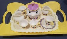 Disney's Beauty and the Beast Mrs Potts & Chip Talking Tea Cup set Vintage