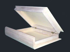 Wood Boxes -  Wood Unfinished Book Box. Lowest Price Guaranteed.
