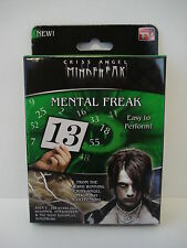 Criss Angel Mind Freak Mental Freak Trick As Seen On TV