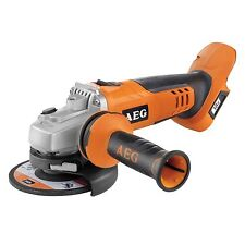 AEG CORDLESS ANGLE GRINDER 18V Side Handle 125mm Disc BEWS18-125X-0 German Brand