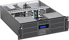 "3U LCD(6x5.25""+4xHD Bay)(Rackmount Chassis)(EATX Case)(Mini Redundant PSU OK)NEW"